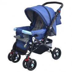 Carucior Elements Albastru - Carucior copii 2 in 1 DHS Baby