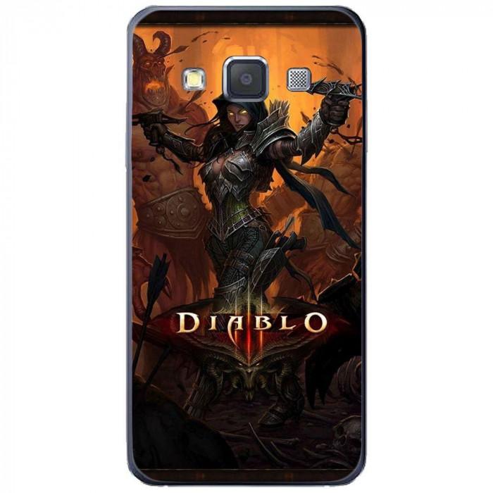 Husa Diablo SAMSUNG Galaxy A3 foto mare