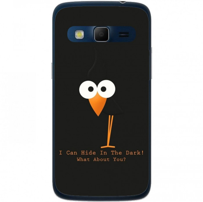 Husa Funny Crow Samsung Galaxy Express 2 G3815 foto mare