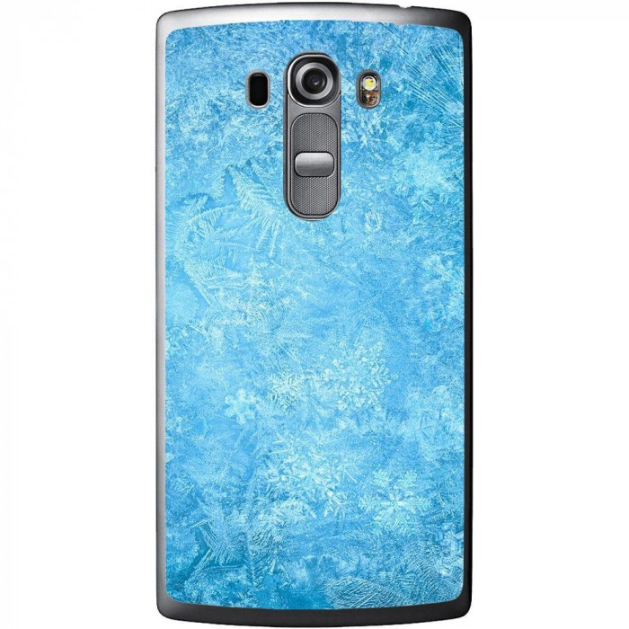 Husa Frozen Ice Snowflake LG G4 Beat G4s H735 foto mare