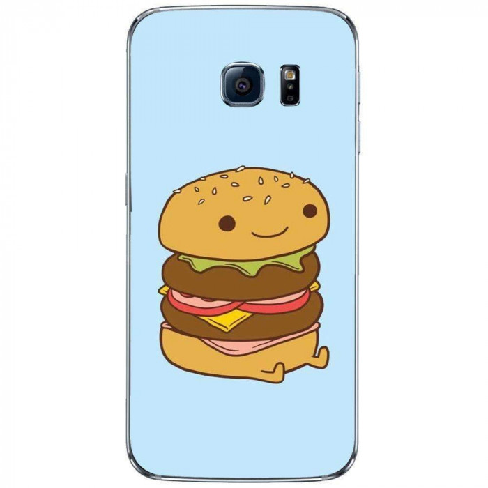 Husa Da Burger SAMSUNG Galaxy S6 Edge foto mare