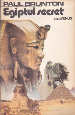 PAUL BRUNTON - EGIPTUL SECRET foto