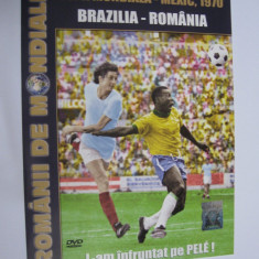 DVD fotbal / Brazilia - Romania / CM Mexic 70