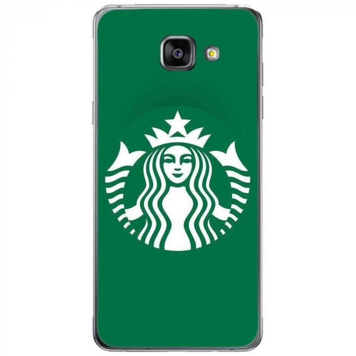 Husa Green Starbucks SAMSUNG Galaxy A5 2016 foto mare