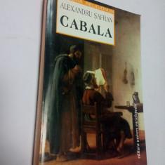 CABALA - ALEXANDRU SAFRAN - Carti Iudaism