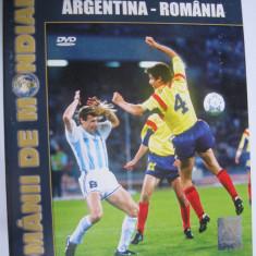 DVD fotbal / Argentina - Romania / CM Italia 90