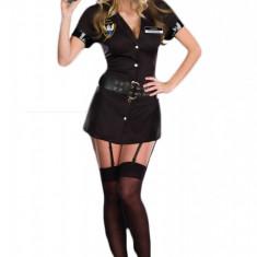 Z134 Costum Halloween politista, Marime: M