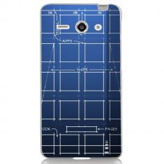 Husa Blueprint HUAWEI Ascend Y530 - Husa Telefon