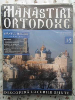 Manastiri Ortodoxe Vol.15 Sfantul Serghie Rusia - Colectiv ,414713 foto