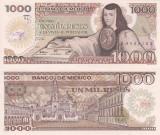 MEXIC 1.000 pesos 1985 - serie YL UNC!!!