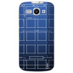 Husa Blueprint HUAWEI Ascend Y520 - Husa Telefon