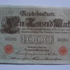 Bancnota 1000 mark 1910 - Germania - bancnota europa
