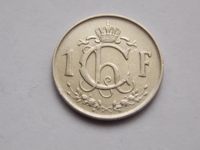 1 FRANC 1952 LUXEMBURG