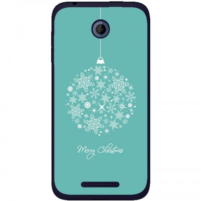 Husa Christmas Globe HTC Desire 510