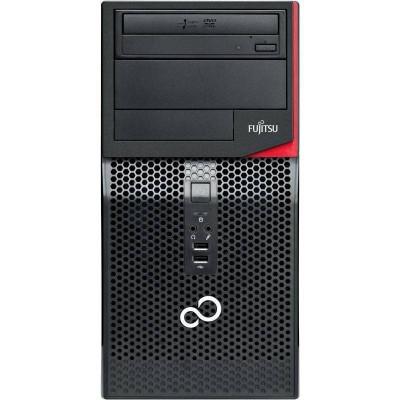 Sistem desktop Fujitsu Esprimo P556 MT Intel Core i5-7400 4GB DDR4 no HDD Black foto