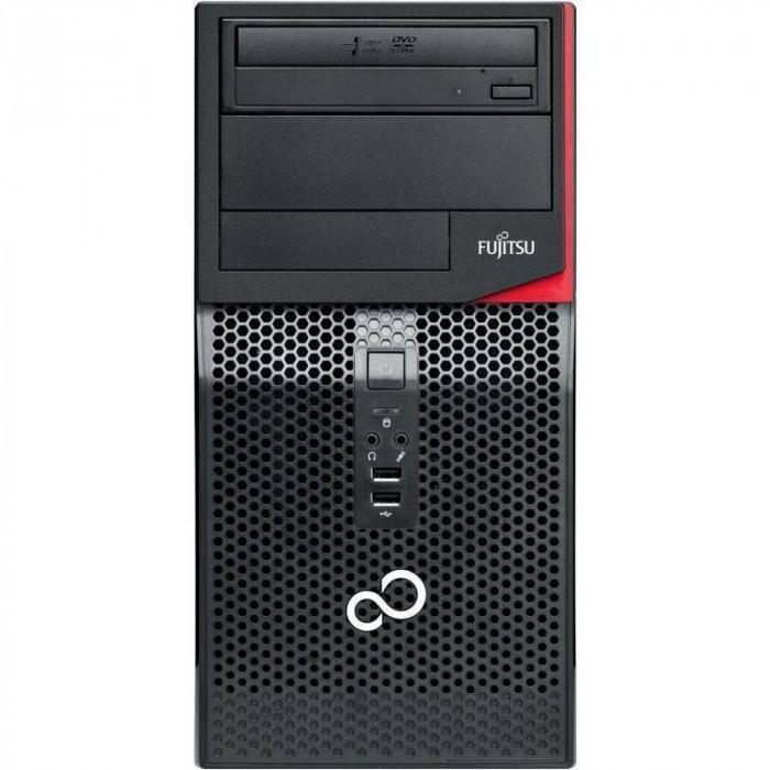 Sistem desktop Fujitsu Esprimo P556 MT Intel Core i5-7400 4GB DDR4 no HDD Black