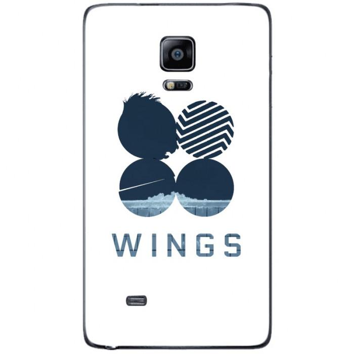 Husa Blue Wings SAMSUNG Galaxy Note 4 Edge foto mare