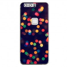Husa Christmas Tree Bokeh Android Wallpaper HUAWEI Ascend P10 Lite