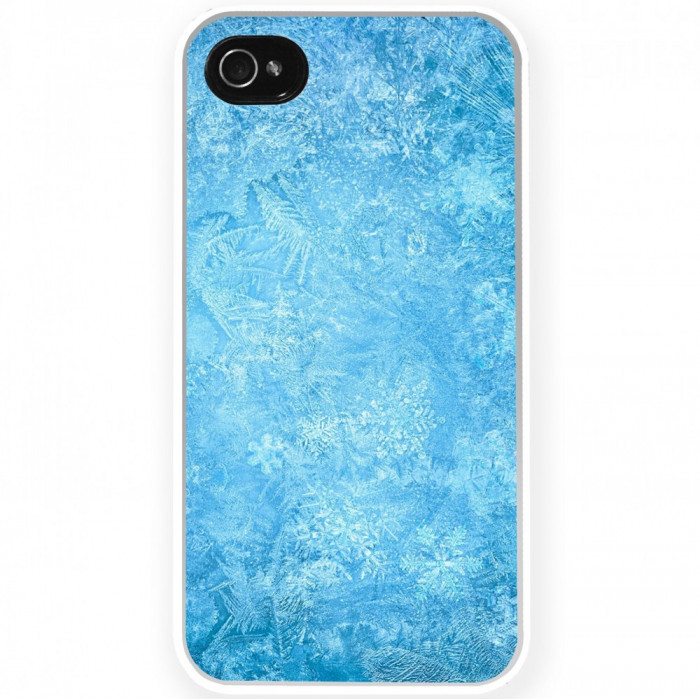 Husa Frozen Ice Snowflake APPLE Iphone 5c foto mare