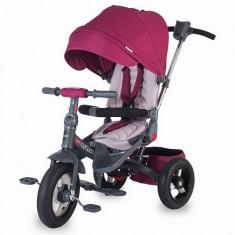 Tricicleta multifunctionala Corso Roz - Tricicleta copii Coccolle