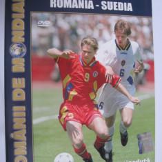 DVD fotbal / Romania - Suedia / CM SUA 94
