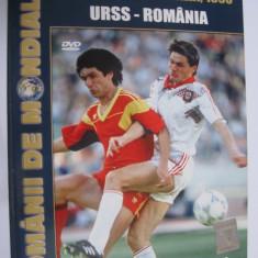 DVD fotbal / URSS - Romania / CM Italia 90