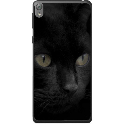 Husa Black Cat Face Sony Xperia E5 foto