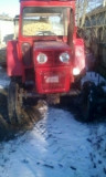 Tractor u445 + utilaje: freza, plug și căruță