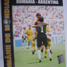 DVD fotbal / Romania - Argentina / CM SUA 94