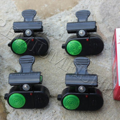 Set 4 Avertizori Senzor Sonor pentru pus Direct pe Lanseta Incluse Bateriile - Avertizor pescuit, Electronice