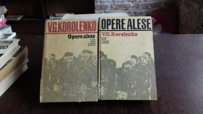 OPERE ALESE - V.G. KOROLENKO 2 VOLUME foto