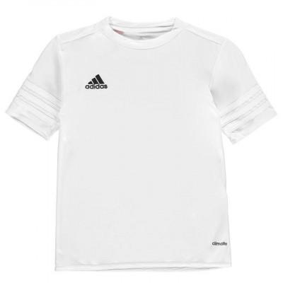 In STOC! Tricou Adidas Entrda 14 Alb - Original - Marimea L - Poliester foto