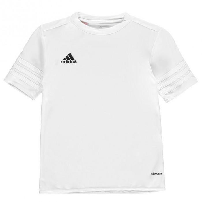 In STOC! Tricou Adidas Entrda 14 Alb - Original - Marimea L - Poliester foto mare