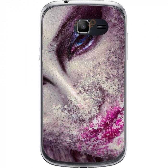 Husa Frozen Face Samsung Galaxy Trend Lite S7390 foto mare