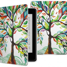 Husa Slim TREE pentru ebook Kindle PaperWhite - Husa Tableta Oem