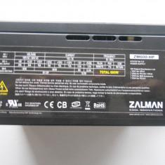 Sursa Modulara Zalman ZM600-HP /600W. - Sursa PC Zalman, 600 Watt
