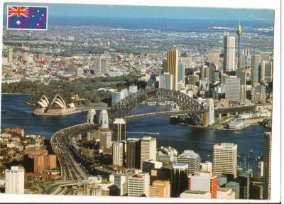 CPI B 10243 CARTE POSTALA - SYDNEY, AUSTRALIA. MARFURI EXPORTATE, RANG MONDIAL foto