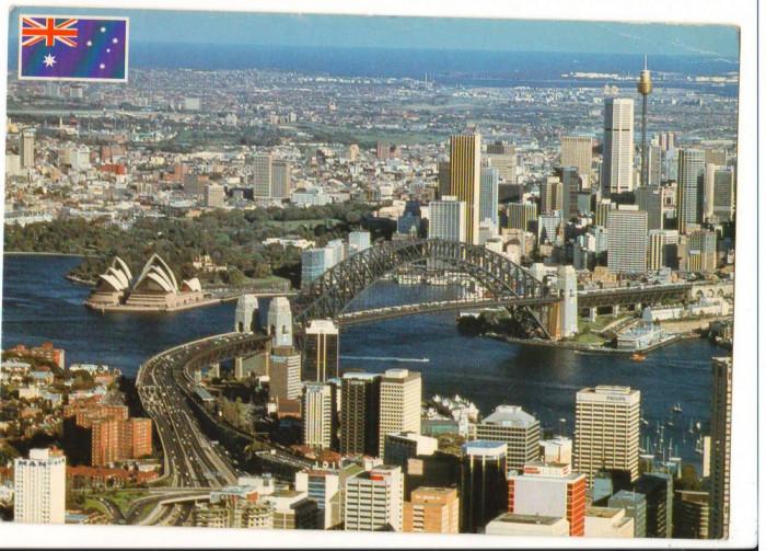 CPI B 10243 CARTE POSTALA - SYDNEY, AUSTRALIA. MARFURI EXPORTATE, RANG MONDIAL foto mare
