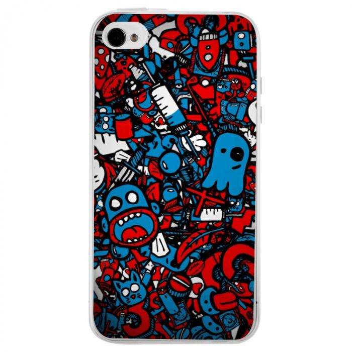 Husa Doodle Bomb APPLE Iphone 4s
