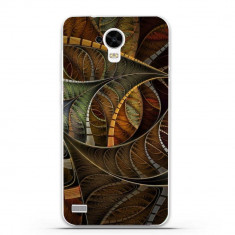 Husa Abstract Brown Illusion Pattern HUAWEI Ascend Y5 Y560