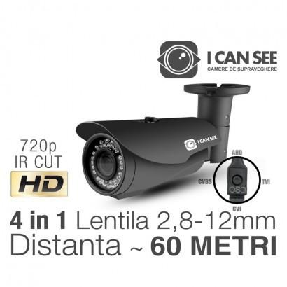 Camera de supraveghere    ICSLV-UHD1000, UHD, HIBRID 4 in 1 foto mare