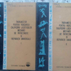 Indrumator Pentru Ridicarea Calificarii Lacatusilor Mecanici - V. Barbu, C. Moldovan, T. Petrea, 414660