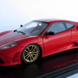 RedLine Ferrari F430 Scuderia ( rosso corsa / gold rims ) 2006 1:43