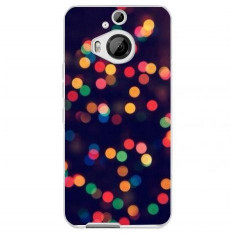 Husa Christmas Tree Bokeh Android Wallpaper HTC One M9 Plus