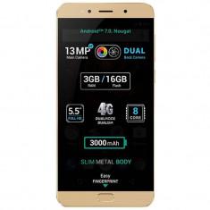 Smartphone Allview X4 Soul Lite 16GB Dual Sim 4G Gold - Telefon Allview