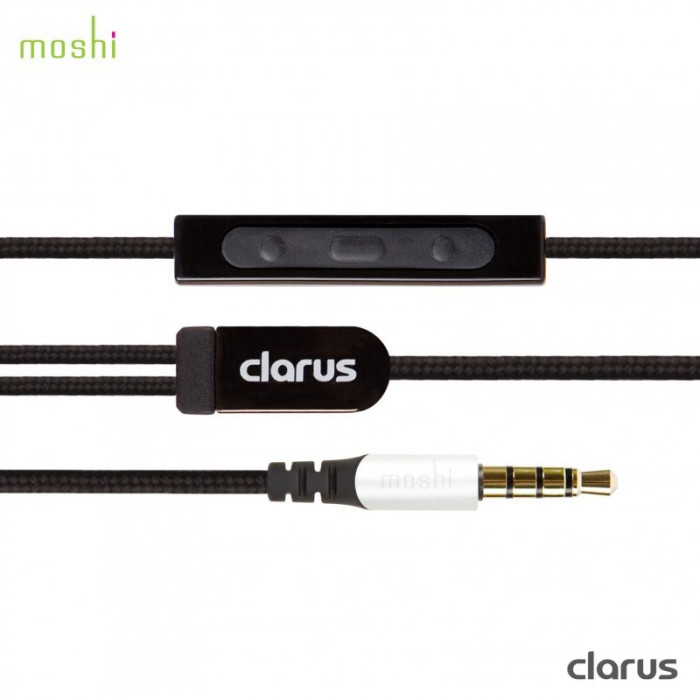 Casti audio Moshi Clarus on-ear, Premium Sound Dual Drivers