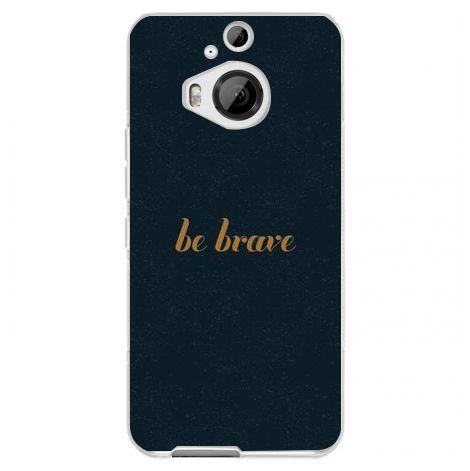 Husa Be Brave HTC One M9 foto mare