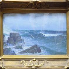 PEISAJ MARIN - D. FLORIAN - Pictor roman