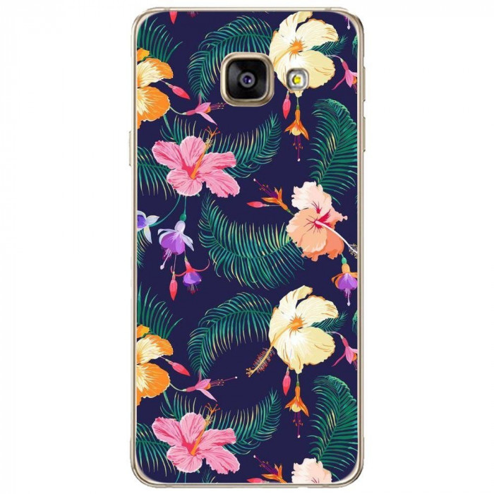 Husa Cute Retro Flowers SAMSUNG Galaxy A3 2016 foto mare
