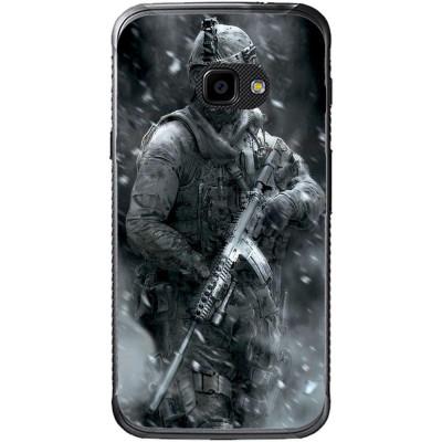 Husa Grey Soldier Samsung Galaxy Xcover 4 foto